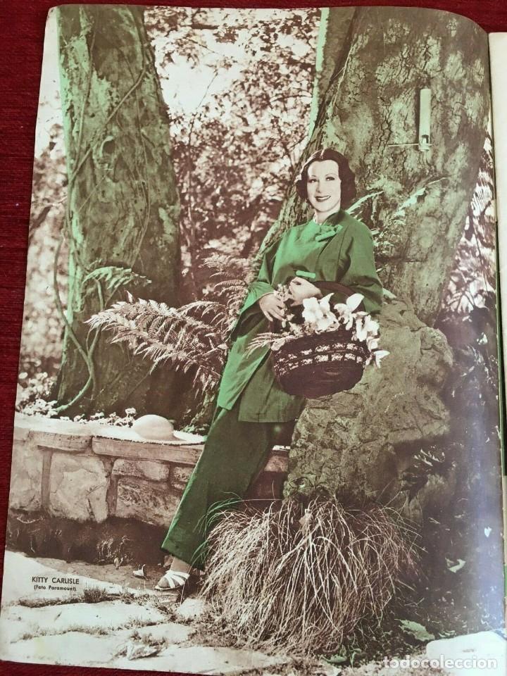 Cine: FILMS SELECTOS Gingers Rogers Laurel & Hardy Kitty Carlisle Myrna Loy Alice Faye 1936 - Foto 3 - 262177025