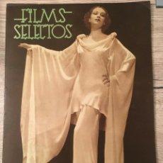 Cine: FILMS SELECTOS DOLORES DEL RIO CLARK GABLE JOAN CRAWFORD JEAN HARLOW ROBERT YOUNG. Lote 262178095
