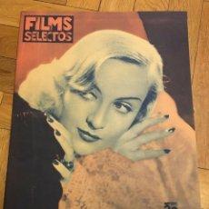 Cine: FILMS SELECTOS CAROLE LOMBARD BETTE DAVIS JEAN HARLOW ANITA LOUISE NANCY CARROLL ALICE. Lote 262178450