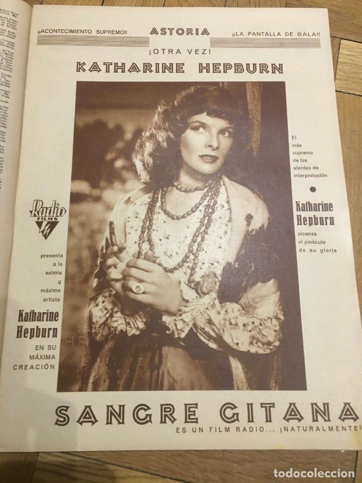 Cine: FILMS SELECTOS Grace Moore Katharine Hepburn Ginger Rogers Dixie Dunbar Paulette Godda - Foto 3 - 262180085