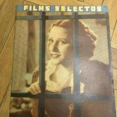 Cine: FILMS SELECTOS RAQUEL RODRIGO JEAN PARKER OLIVIA DE HAVILLAND ANITA COLBY MYRNA LOY. Lote 262180185