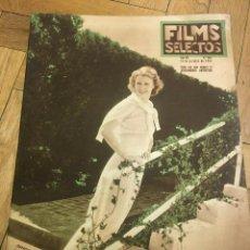 Cine: FILMS SELECTOS JEANETTE MACDONALD JUDITH ALLEN SALLY EILERS FRED MACMURRAY JANE HAMILT. Lote 262180510
