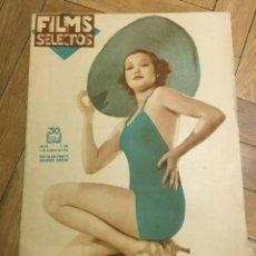 Cine: FILMS SELECTOS DOROTHY TOMPSON CAROLE LOMBARD ANNE DARLING KATHARINE HEPBURN MIRNA LOY. Lote 262180635