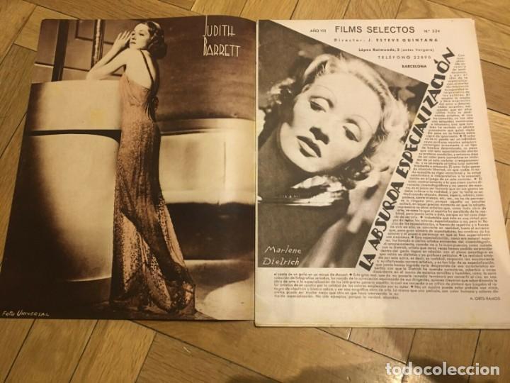 Cine: FILMS SELECTOS Gail Patrick on Cover Judith Barrett Jean Harlow Mae West Dick Powell - Foto 2 - 262181180