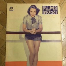 Cine: FILMS SELECTOS RUBY KEELER ON COVER PAT PATERSON ALICE IN WONDERLAND ANNA NEAGLE 1935. Lote 262181485