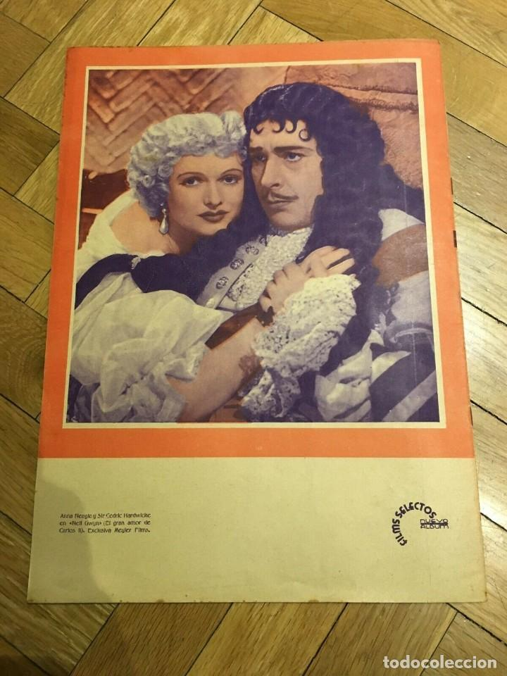 Cine: FILMS SELECTOS Ruby Keeler on Cover Pat Paterson Alice in Wonderland Anna Neagle 1935 - Foto 5 - 262181485