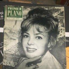 Cine: PRIMER PLANO CRISTINE CARERE ON COVER 1963 JEANNE MOREAU GOGO ROBINS. Lote 262181960