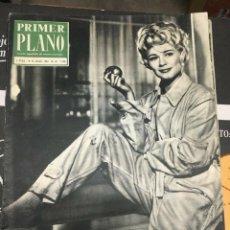 Cine: PRIMER PLANO HOPE LANGE ON COVER 1963 KATHERINE SPAAK DORIS DAY. Lote 262182015