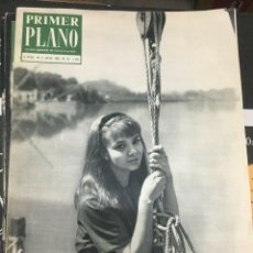 Cine: PRIMER PLANO LAURA EFRIKIAN ON COVER SOPHIE DAUMIER GUY BEDOS 1963. Lote 262182100
