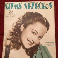 Cine: FILMS SELECTOS JOAN CRAWFORD OLIVIA DE HAVILAND MARGARET SULLAVAN BETTY FURNESS 1936. Lote 262182915