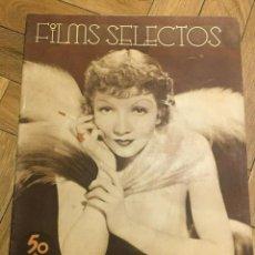 Cine: FILMS SELECTOS JOAN CRAWFORD CLAUDETTE COLBERT ELEANORE WHITNEY WARNER BAXTER LORETTA. Lote 262183150