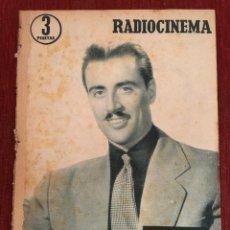 Cine: RADIOCINEMA 1956 HENRY WILSON ON COVER JOAN CRAWFORD SILVANA MANGANO YVONNE CARLO. Lote 262184495