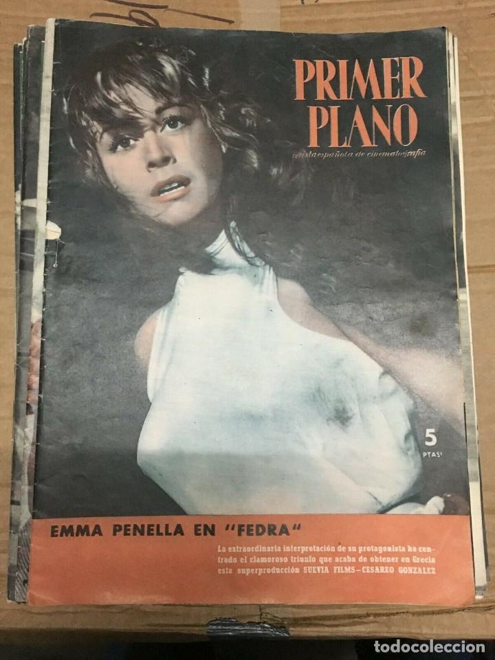 PRIMER PLANO EMMA PENELLA ON COVER JANETTE SCOTTT VERNON GRAY IRASEMA DILLIAN (Cine - Revistas - Primer plano)