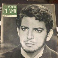 Cine: PRIMER PLANO ESPARTACO SANTONI ON COVER 1963 NICOLE GUEDEN. Lote 262184855