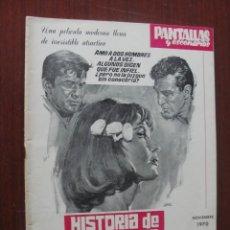 Cine: PANTALLAS Y ESCENARIOS 106 - 1970 - JACK GOLD - JOHN FORD - ENVIO GRATIS. Lote 262278240