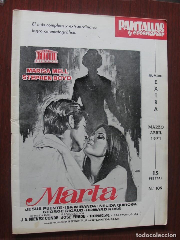 PANTALLAS Y ESCENARIOS 109 - 1971 - JEAN CLAUDE BRIALY - CINE FRANCES - SKAIFE - DE SICA - SANTPERE (Cine - Revistas - Otros)