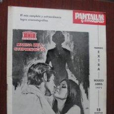 Cine: PANTALLAS Y ESCENARIOS 109 - 1971 - JEAN CLAUDE BRIALY - CINE FRANCES - SKAIFE - DE SICA - SANTPERE. Lote 262280575