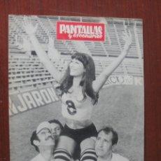 Cine: PANTALLAS Y ESCENARIOS 113 - 1971 - CINE TERROR SITGES - INFANTIL GIJON - DURCAL - JOUVET - ORGANO. Lote 262327095