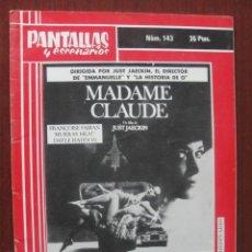 Cine: PANTALLAS Y ESCENARIOS 143 1977 - DESTAPE - BOXEO - SOVIETICO - BUÑUEL - MEXICO - GROUCHO. Lote 262327335