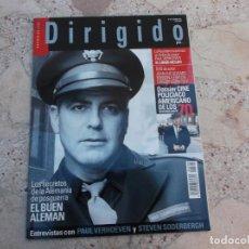 Cine: DIRIGIDO POR Nº 364, DOSSIER CINE POLICIACO AMERICANO DE LOS 70, EL BUEN ALEMAN, EL LIBRO NEGRO. Lote 262367705