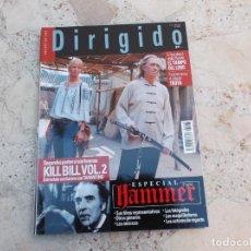 Cine: DIRIGIDO POR Nº 335, ESPECIAL HAMMER 3 PARTE, TROYA, KILL BILL ,EL TIEMPO DEL LOBO,. Lote 262368790