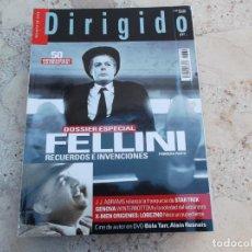 Cine: DIRIGIDO POR Nº 389, DOSSIER ESPECIAL FELLINI PRIMERA PARTE, J.J.ABRAMS, BELA TARR, ALAIN RESNAIS. Lote 262371800