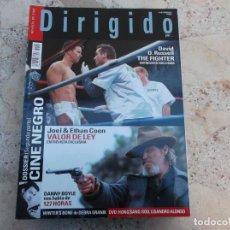 Cine: DIRIGIDO POR Nº 408, DOSSIER CINE NEGRO Y 2 PARTE, DANNY BOYLE, JOEL & ETHAN COEN, THE FIGHTER. Lote 262373080