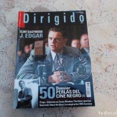 Cine: DIRIGIDO POR Nº 417, DOSSIER PERLAS DEL CINE NEGRO 1 PARTE, J. EDGAR, TOMAS ALFREDSON,. Lote 262373665