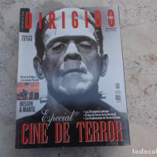 Cine: DIRIGIDO POR Nº 290, EXTRA, ESPECIAL CINE DE TERROR, BRIAN DE PALMA,. Lote 262373885