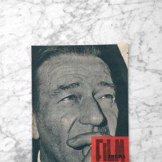 Cine: FILM IDEAL - Nº 60 - 1960 - JOHN WAYNE, LA NOUVELLE VAGUE, CINE Y LITERATURA. Lote 262435495