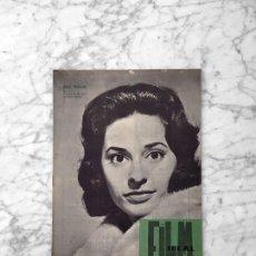 Cine: FILM IDEAL - Nº 61 - 1960 - INA BALIN, NUEVO CINE ESPAÑOL, MANUEL SUMMERS, J.L. BORAU, MACK SENNET. Lote 262436520