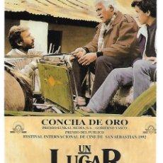 Cine: UN LUGAR EN EL MUNDO. Lote 262441970