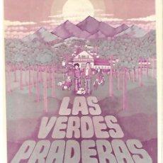 Cine: LAS VERDES PRADERAS. Lote 262442940