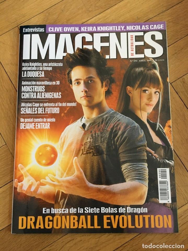 REVISTA CINE IMAGENES # 290 DRAGONBALL EVOLUTION JUSTIN CHATWIN EMMY ROSSUM 2009 (Cine - Revistas - Imágenes de la actualidad)