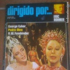 Cine: DIRIGIDO POR - Nº 42 - 1977 - ERIC ROHMER, PEDRO OLEA, R.W. FASSBINDER, GEORGE CUKOR. Lote 262760655