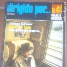 Cine: REVISTA DIRIGIDO POR Nº 41 AÑO 1977. STANLEY KUBRICK. LILIANA CAVANI. MARGUERITE DURAS.. Lote 262761005