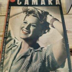 Cine: CAMARA Nº 11 * REVISTA CINEMATOGRAFICA * AGOSTO 1942 * PAOLA BARBARA * CARY GRANT. Lote 262837955