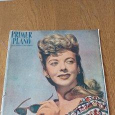 Cine: REVISTA PRIMER PLANO . IDA LUPINO . N° 331 AÑO 1947.. Lote 262883625