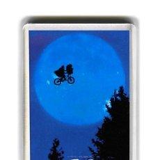 Cine: IMAN ACRILICO NEVERA - CINE E.T. ET EL EXTRATERRESTRE STEVEN SPIELBERG. Lote 262904565