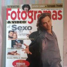 Cine: FOTOGRAMAS 1808 MAYO 1994. Lote 262922240