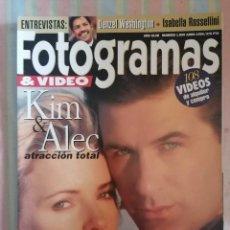 Cine: FOTOGRAMAS 1809 JUNIO 1994. Lote 262922335