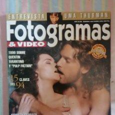 Cine: FOTOGRAMAS 1815 ENERO 1995. Lote 262923135