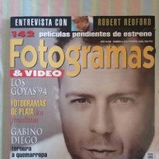 Cine: FOTOGRAMAS 1816 FEBRERO 1995. Lote 262923285
