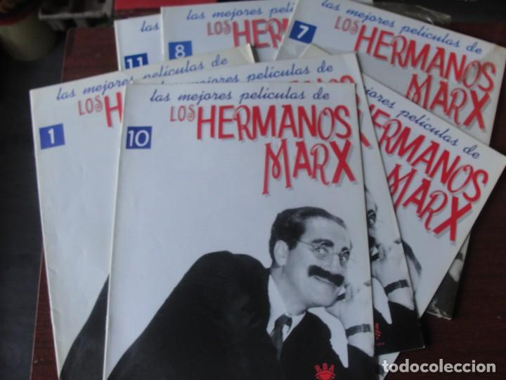 FASCICULO Nº 1 LOS HERMANOS MARX / UNA NOCHE EN LA OPERA - SIN USAR (Cine - Revistas - Otros)