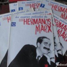 Cine: FASCICULO Nº 11 - LOS HERMANOS MARX - EL HOTEL DE LOS LIOS - STOCK DE QUIOSCO - 1996 -. Lote 262958300