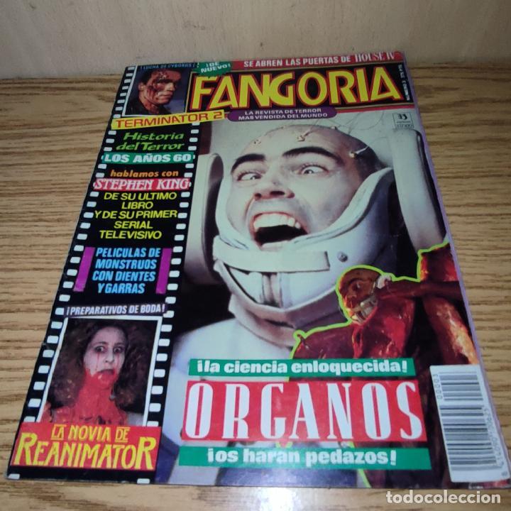 FANGORIA: ORGANOS, STEPHEN KING, TERMINATOR 2, LA NOVIA DE RE-ANIMATOR (Cine - Revistas - Fangoria)