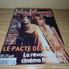 Cine: MAD MOVIES: EL PACTO DE LOS LOBOS, STAR WARS, EL PLANETA DE LOS SIMIOS. Lote 263021410