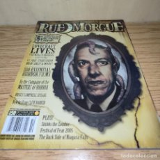 Cine: RUE MORGUE: LOVECRAFT, BRUCE CAMPBELL, WES CRAVEN. Lote 263028855