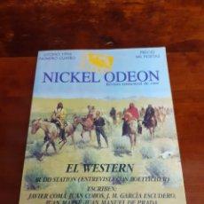 Cinema: NICKEL ODEON N°4. OTOÑO 1996. ESPECIAL EL WESTERN. PERFECTO ESTADO. REVISTA DE CINE.. Lote 263712170