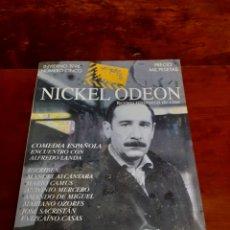 Cinema: NICKEL ODEON N°5. INVIERNO 1996. ALFREDO LANDA, COMEDIA ESPAÑOLA. PERFECTO ESTADO. REVISTA DE CINE.. Lote 263727800